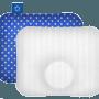 HEAD CARE - Medyczna poduszka dla niemowląt noworodków i dzieci - plagiocefalia ułożeniowa leczenie